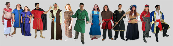 Historical, Fantasy and Religious Costumes and Accessories including historical shoes