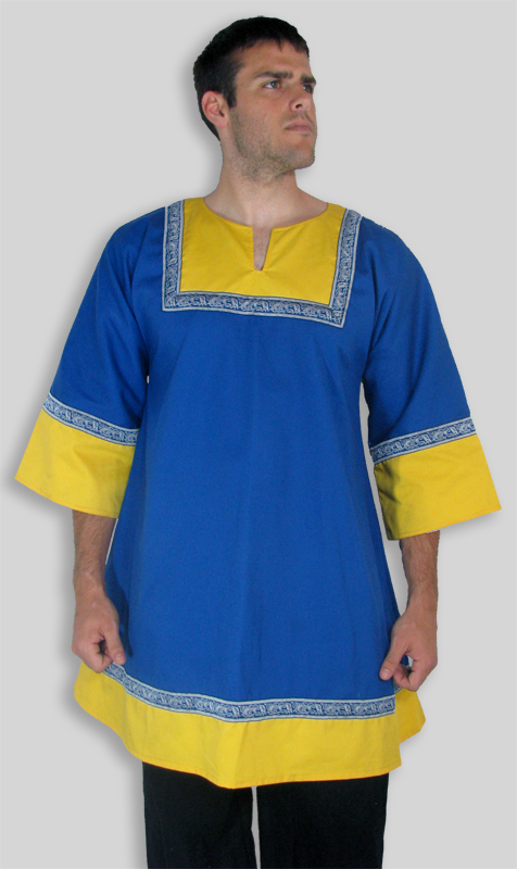 Two-color tunic