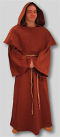 Monk Robe with Cowl